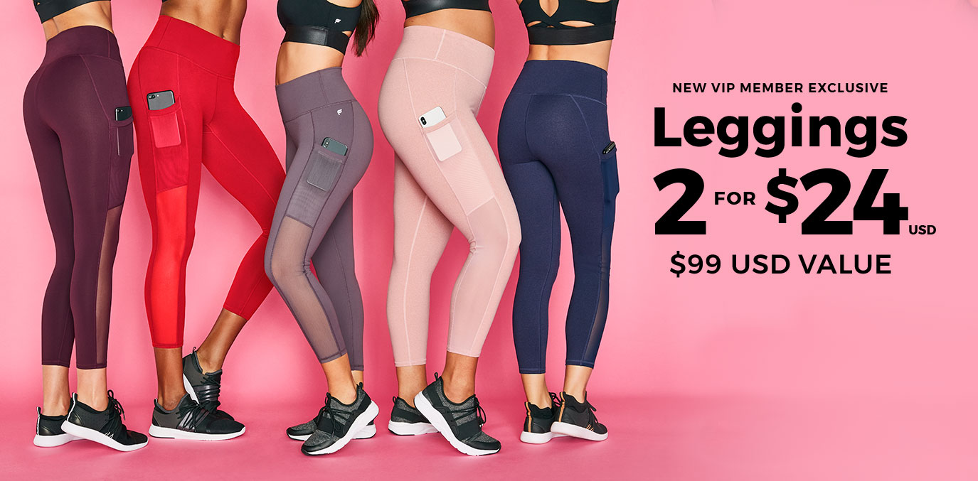 Exclusive Offer | 2 For $24 Leggings