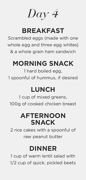 7-day healthy eating plan: day 4