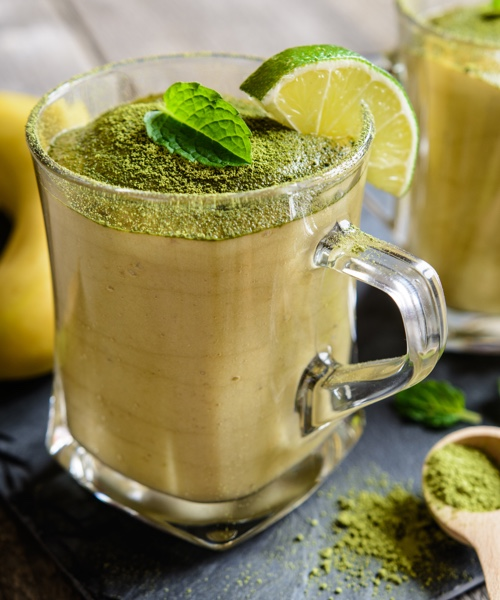 Matcha power smoothie