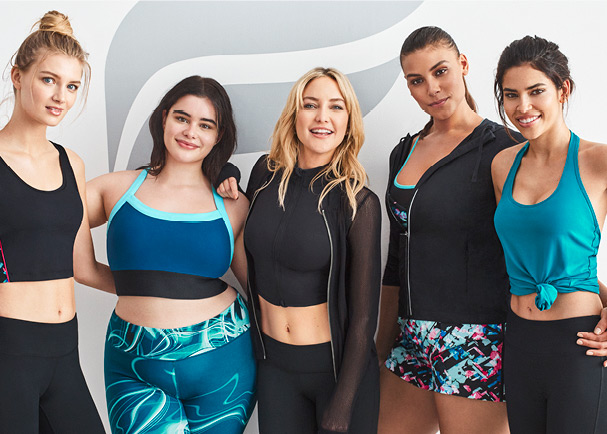 Kate Hudson with plus size women