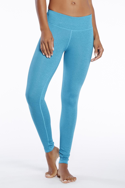 7c2f476dddc Salar Printed PowerHold® Legging - Rayé Bleu Canard