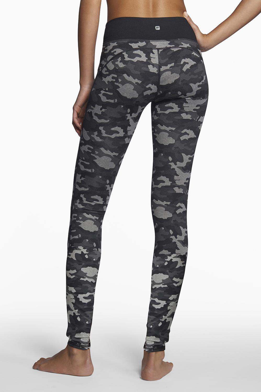 Nadi Legging in Camo/Dark Grey
