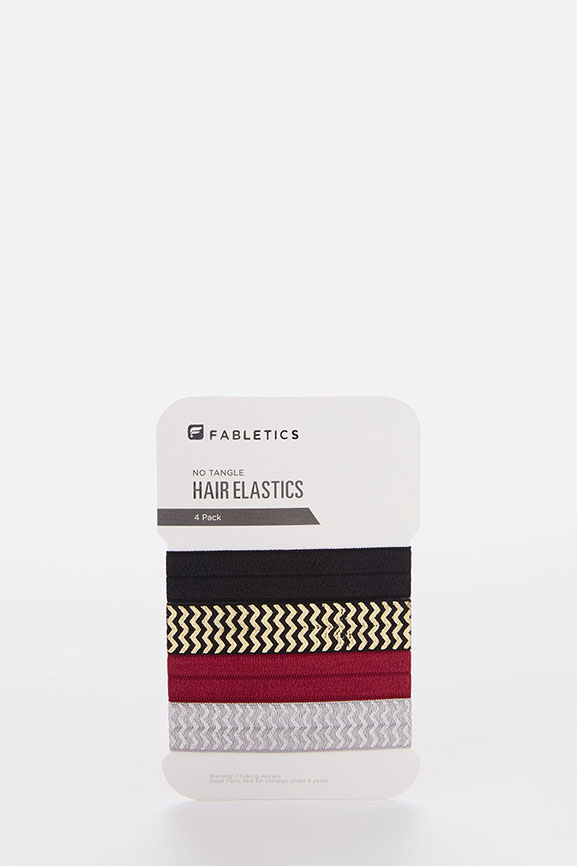 The 4-Pack Hair Ties - Fabletics 424b0f651a5