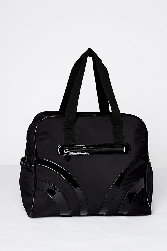The Pace Gym Bag In Black