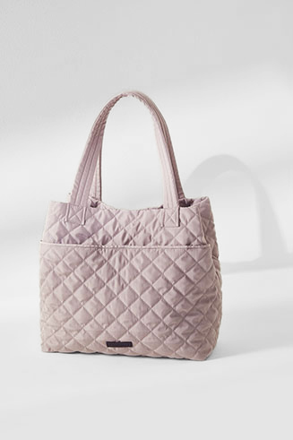 The Cascade Quilted Tote