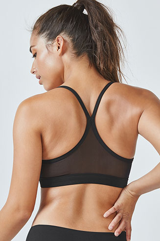 Snapdragon Reversible Mesh Sports Bra