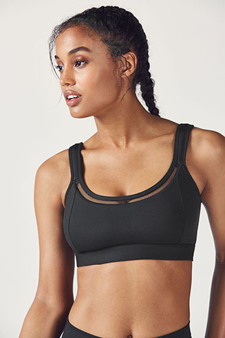 Zuri High Support Sports Bra