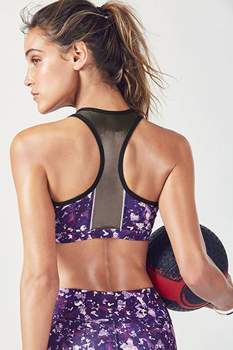 Amna Reflective Sports Bra