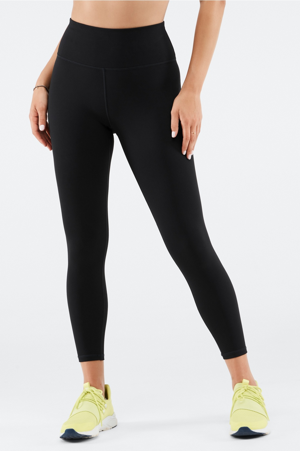 cf7861437a7a44 High-Waisted Solid PowerHold® 7/8 - Fabletics