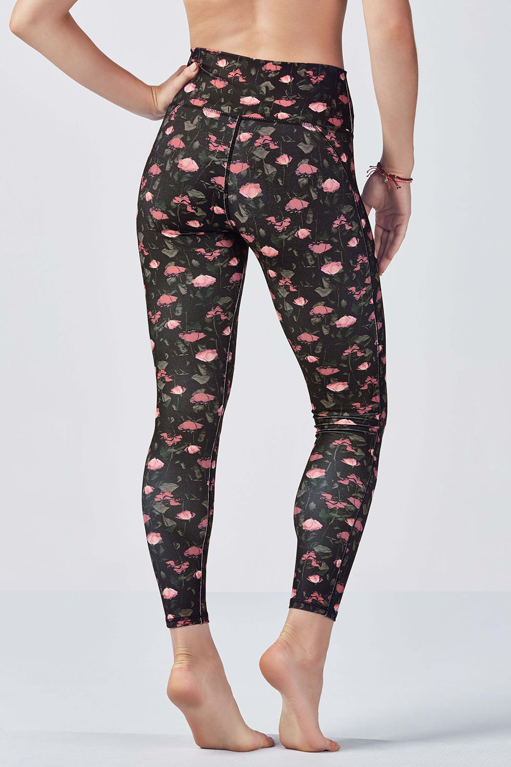 ace7766f41471 High-Waisted Printed PowerHold® 7/8 - Rose Romance Small