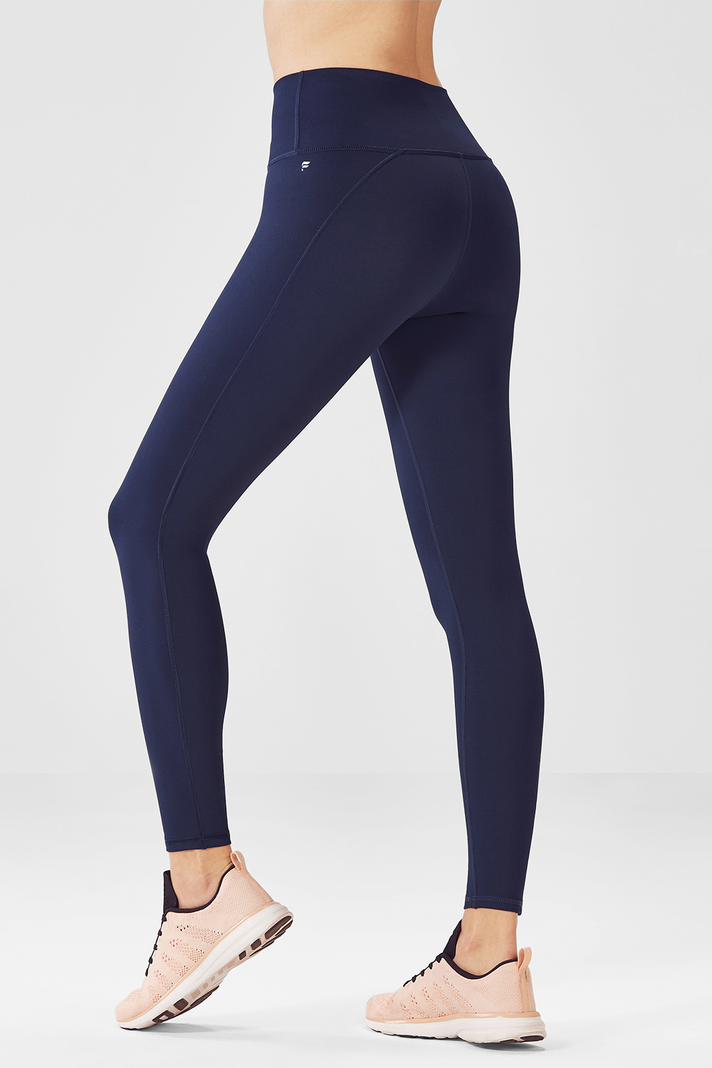 00c3aef0176 High-Waisted Solid PowerHold® 7/8 - Fabletics