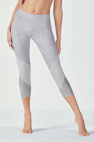 Brogan Lace Capri