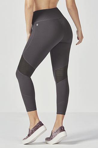 High-Waisted Mesh PowerHold 7/8