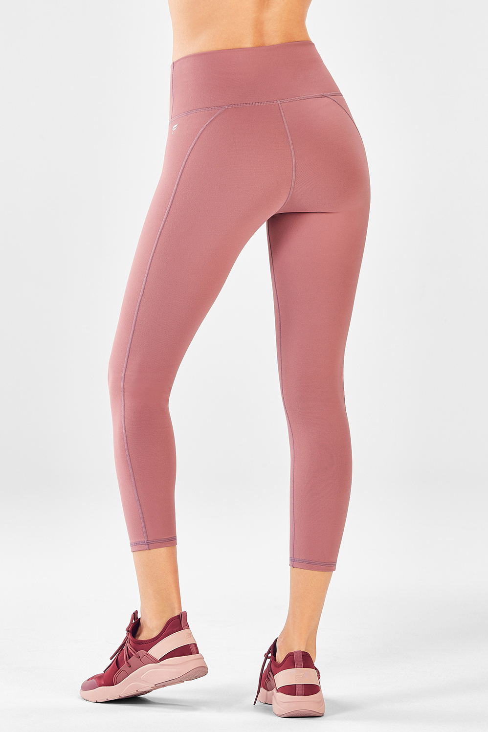 c6f0cf8a329 High-Waisted Solid PowerHold® Capri - Fabletics