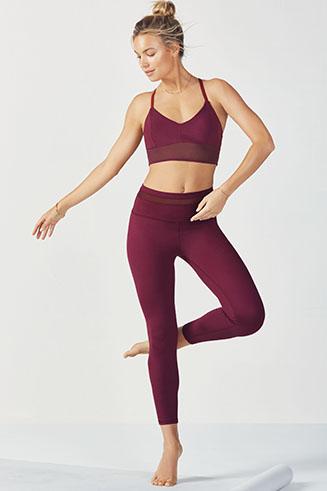 tenues de yoga accessoires yoga fabletics. Black Bedroom Furniture Sets. Home Design Ideas