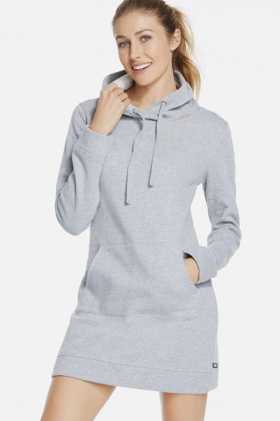 Robe Yukon en Gris Chiné - Vêtements de sport Fabletics Kate Hudson Fabletics