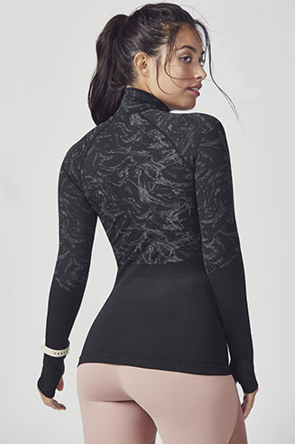 Amelia Seamless L/S Pullover
