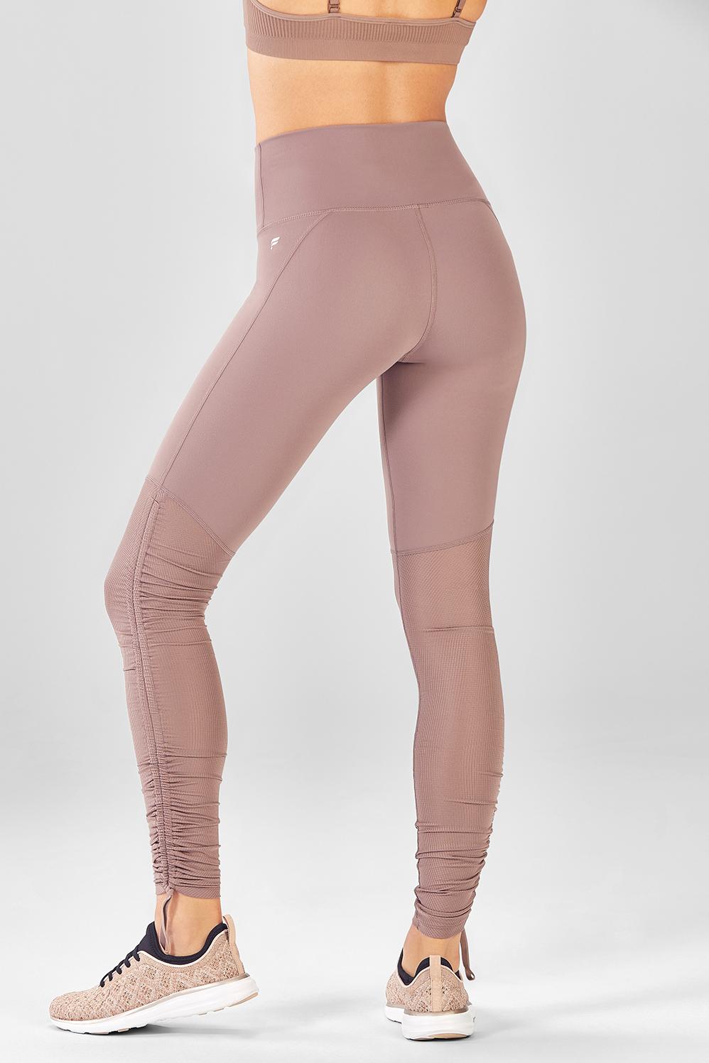 c9f52ec00f189 Cashel Foldover PureLuxe Legging - Fabletics