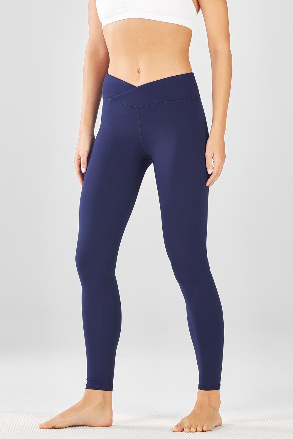 legging bleu marine