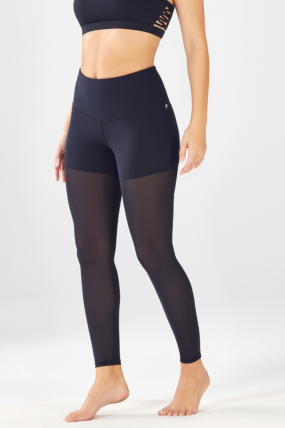 ff385358312ade High-Waisted Mesh PureLuxe Leggings - Fabletics
