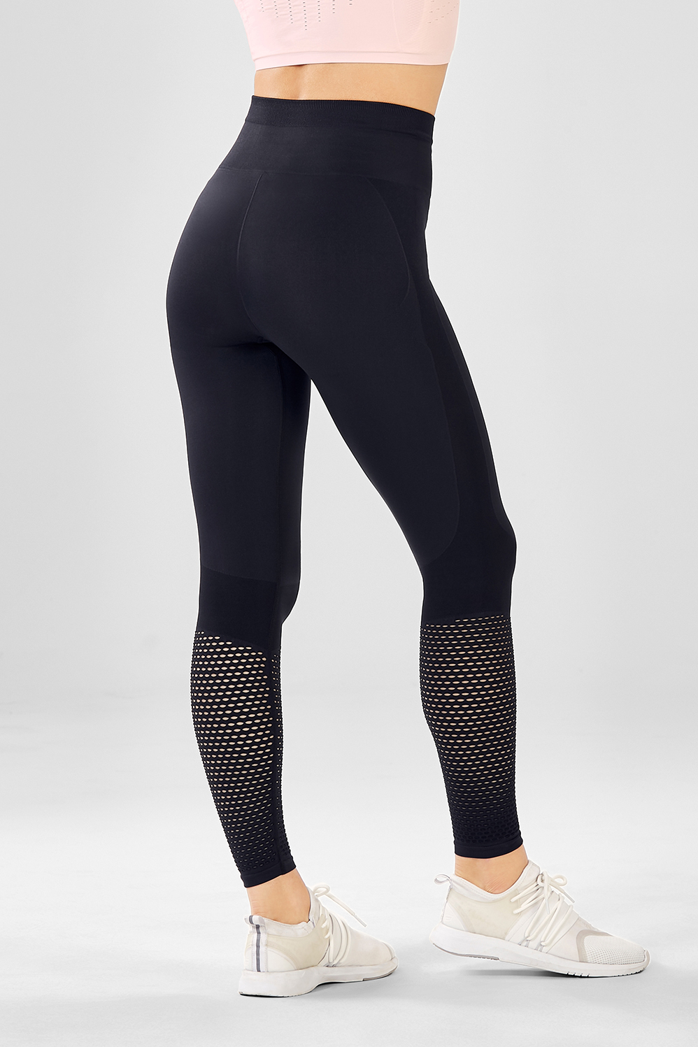 street price super popular new products for High-Waisted Seamless Mesh Leggings