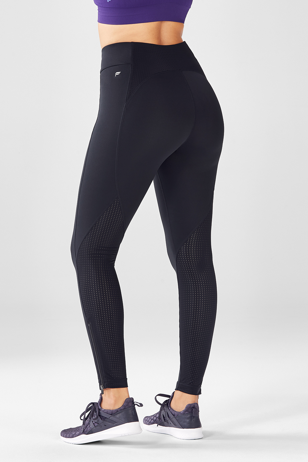 205e6bf0660 High-Waisted Solid Spin Bottoms - Fabletics