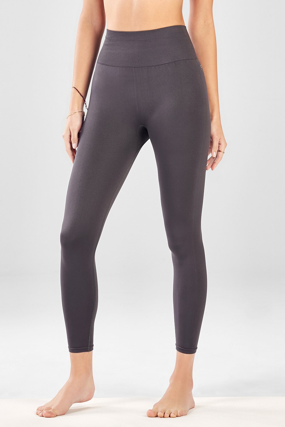 fde23e737c4980 Seamless High-Waisted Solid 7/8 - Fabletics