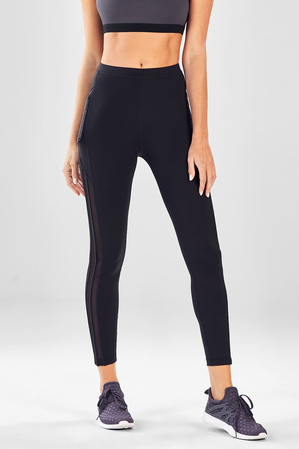 62705920248 High-Waisted Solid Spin Bottoms II - Fabletics