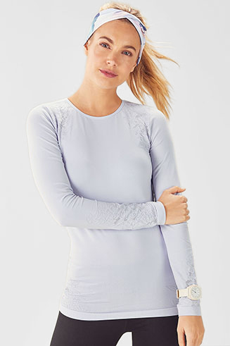 Elise Seamless L/S Top