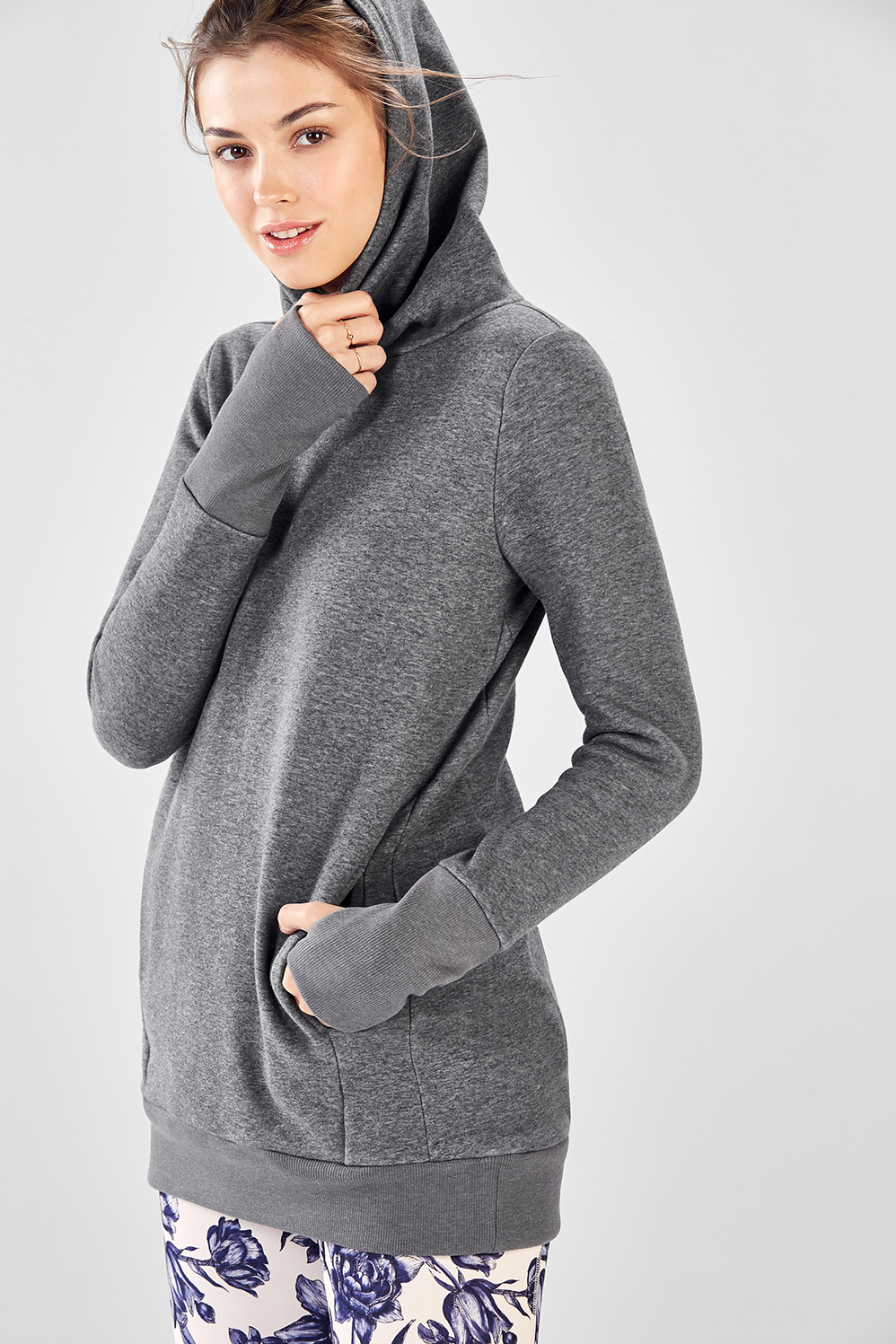 9a6700403d Zaylee Fleece Hoodie - Grey Heather