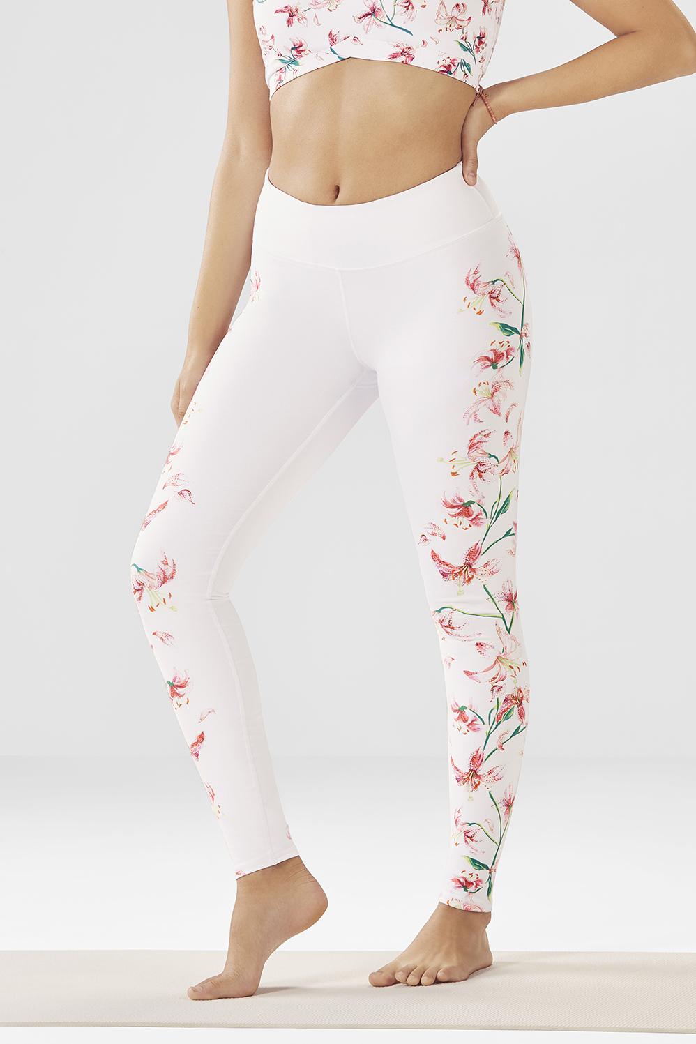 9b3a705967e701 Salar Printed PowerHold® Leggings - Lily Vine Print