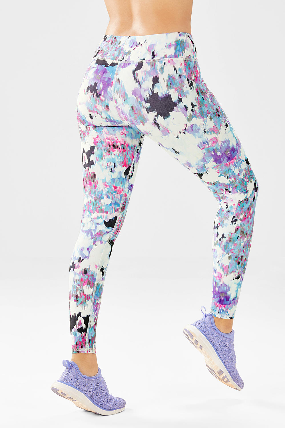 6ef7782bf73fb8 Salar Printed PowerHold® Leggings - Floral Fresco Print