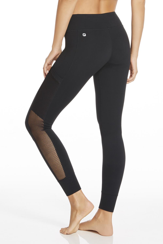 Legging Mila en Noir - Vêtements de sport Fabletics