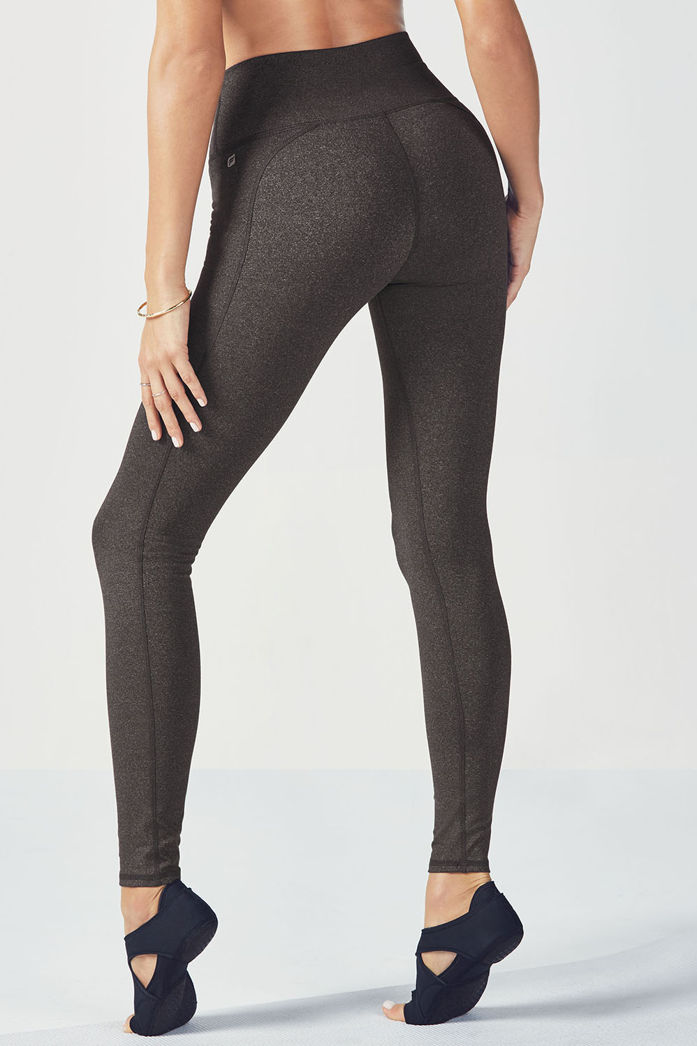 ec42740a0d0 High-Waisted Solid PowerHold® Legging - Charcoal Heather