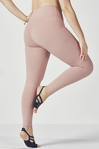 High-Waisted Solid PowerHold Legging