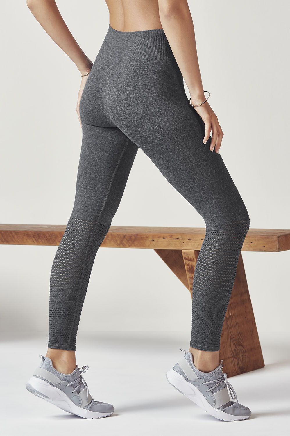 afd5ebb2d60c33 Seamless Solid Legging - Charcoal / Heather