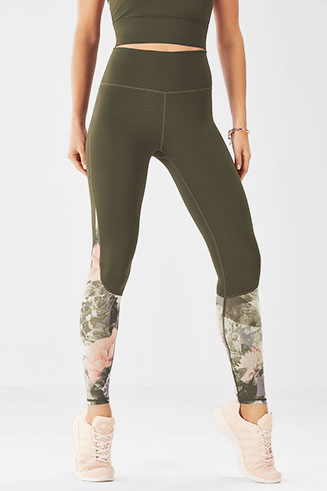 High-Waisted Mesh PowerHold Legging