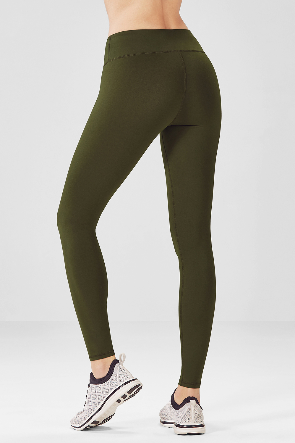522d95a2c13860 Salar Solid PowerHold® Leggings - Dark Olive