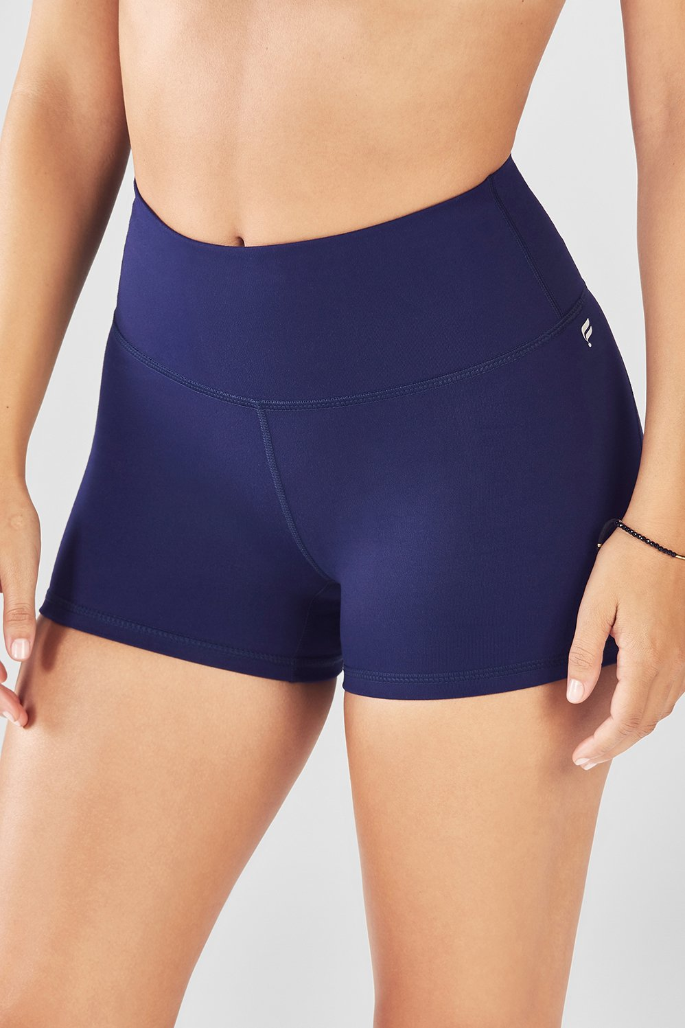 f71f9479acc High-Waisted Solid PowerHold® Shorts - Fabletics