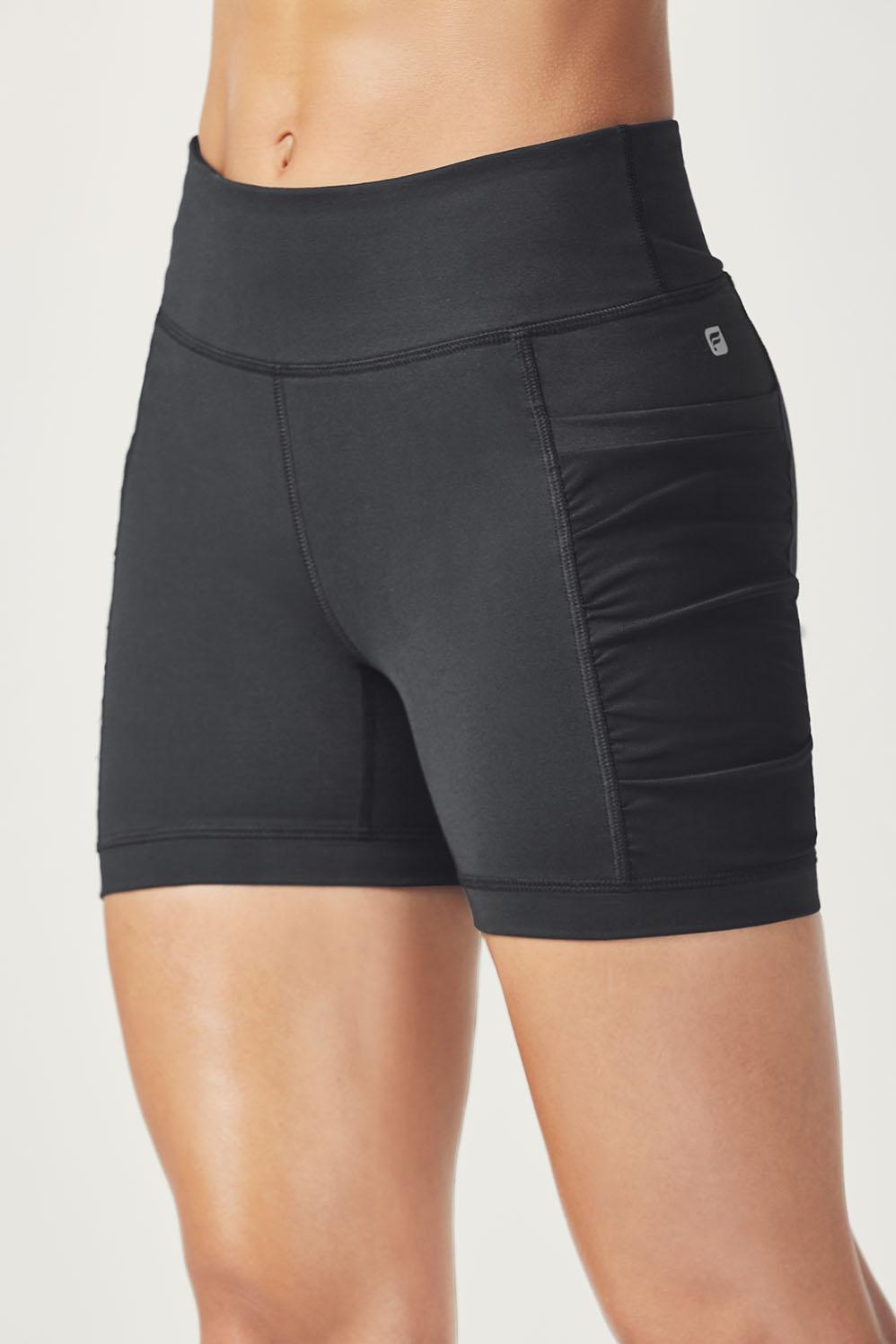 Short lindy en noir v tements de sport fabletics for 998 haute compression